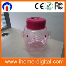 Big Capacity digital coin saving jar coin bank toys