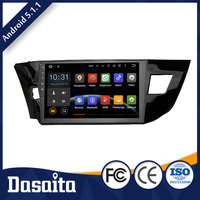 Double din car dvd gps player for 7 inch toyota rav4 avensis noah