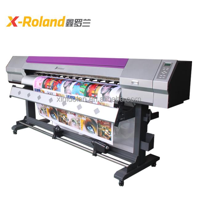 x-roland 1.6m eco solvent vinyl sticker printing machine for sale