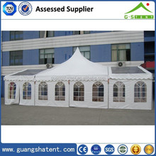 F low price frame wooden floor tent
