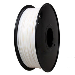 Factory price PLA filament 1.75mm/3.0mm White 3D printer filament