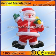 Hot-selling christmas decoration artificial foam inflatable christmas snowman