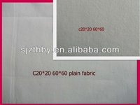 100% cotton plain gray fabric lining fabric for sofa