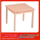 60x60cm size of wooden study square table designs for kids furniture