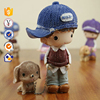 Wholesale High quality Cartoon doll Ornaments Resin toy doll
