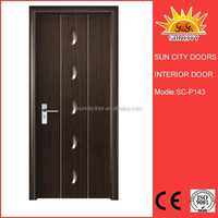 Retractable 8mm mdf interior door SC-P143