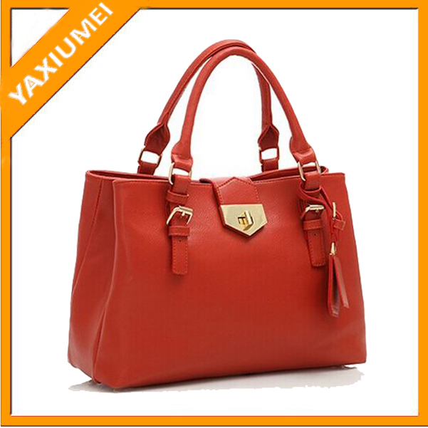 young ladies trendy beautiful pu lady handbag