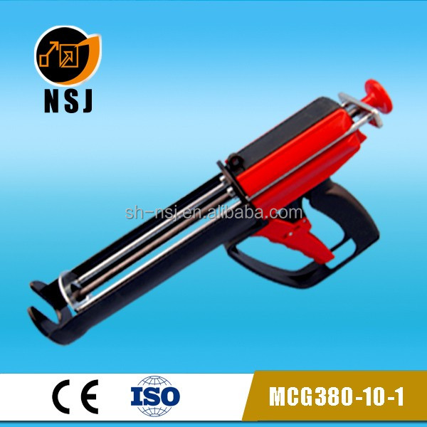 380ml 10:1 caulking gun/epoxy structural adhesive/manual caulking gun