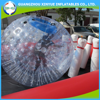 Most popular sports inflatable human bowling ball, body bowling ball games for sale