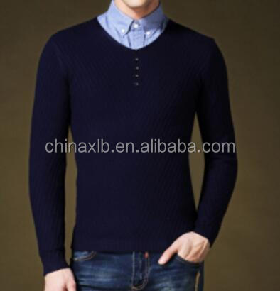 New Winter Men's Sweater O- Neck Sweater /Male V collar knitted sweater/, Men's Knitwear
