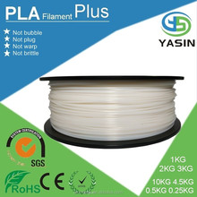 High quality biodegradable PLA 3d printer filament with 1.75mm / 3mm diameter for DIY 3d printer