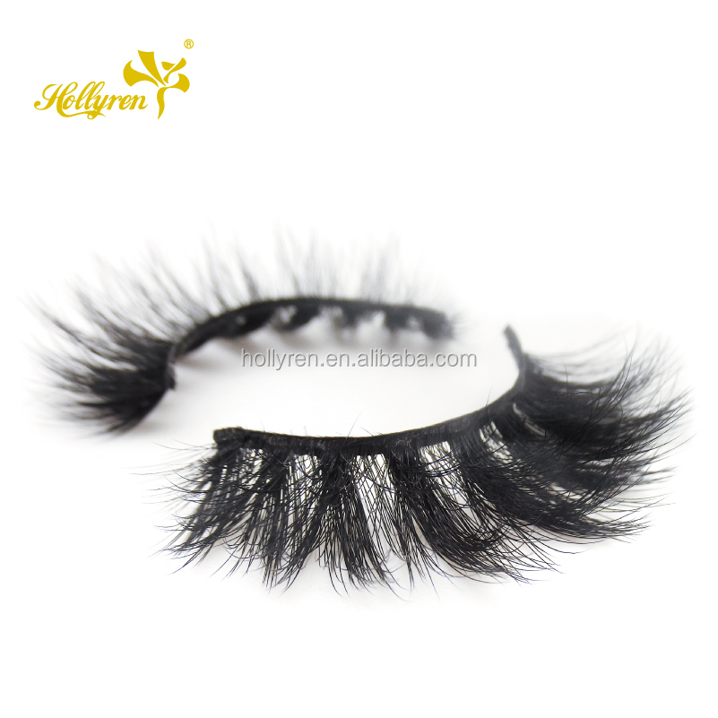 Hollyren Wholesale Top Quality 3d Faux Mink Eyelash Strip