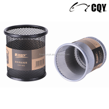 New Office Stationery for Desk Organizer use square -shaped Wire Mesh Metal Pencil Holder/Pen Cup