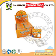 chinese custom orange flavor crispy best chewing gum in india