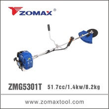 ZMG5301T 52cc 1.3kw china bike handle diesel grass cutters grass trimmers brush cutters