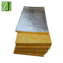 Thermal conductivity loose glass wool blanket with aluminum foil