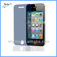 Blue Privacy Screen Protector For iPhone 4 4G 4S