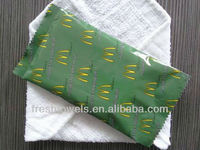 cotton McDonald's restaurant wet wipes/towels/tissues