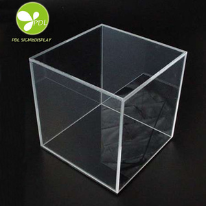 New Arrival custom Acrylic Plexiglass Display Box