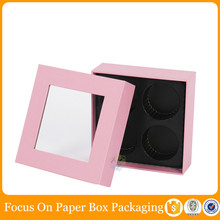pink cute gift customize chocolate strawberry boxes