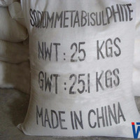 China Factory Competitive Price Sodium Metabisulphite