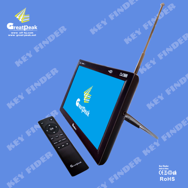 Hot sale 9 inch portable LED DVB T2 TV for Europe Market