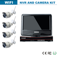 china 4CH 720P IP CAMERA WIRELESS NVR kit