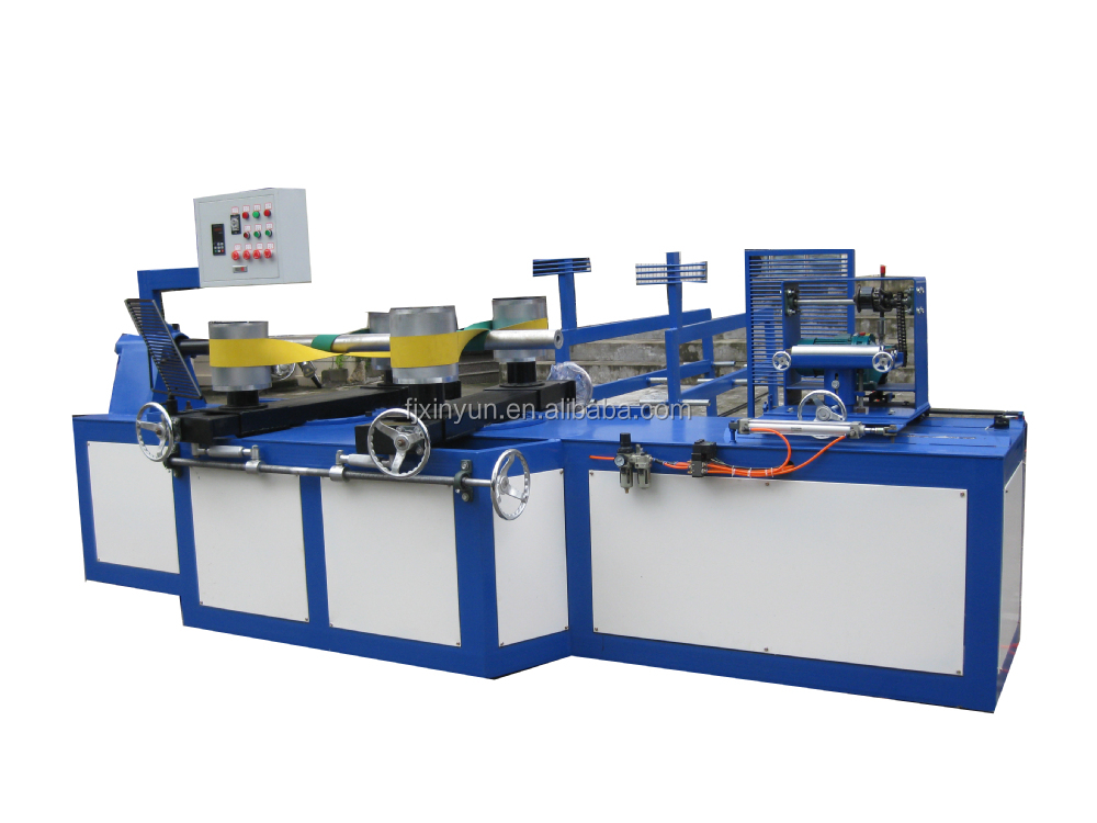 Automatic laminated spiral paper tube machine