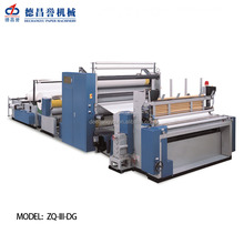 New Style Simple Operation Automatic kitchen roll tissue manufacturing machine