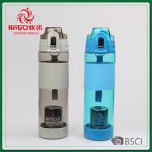 Sell well new type large 650ml filter water bottle
