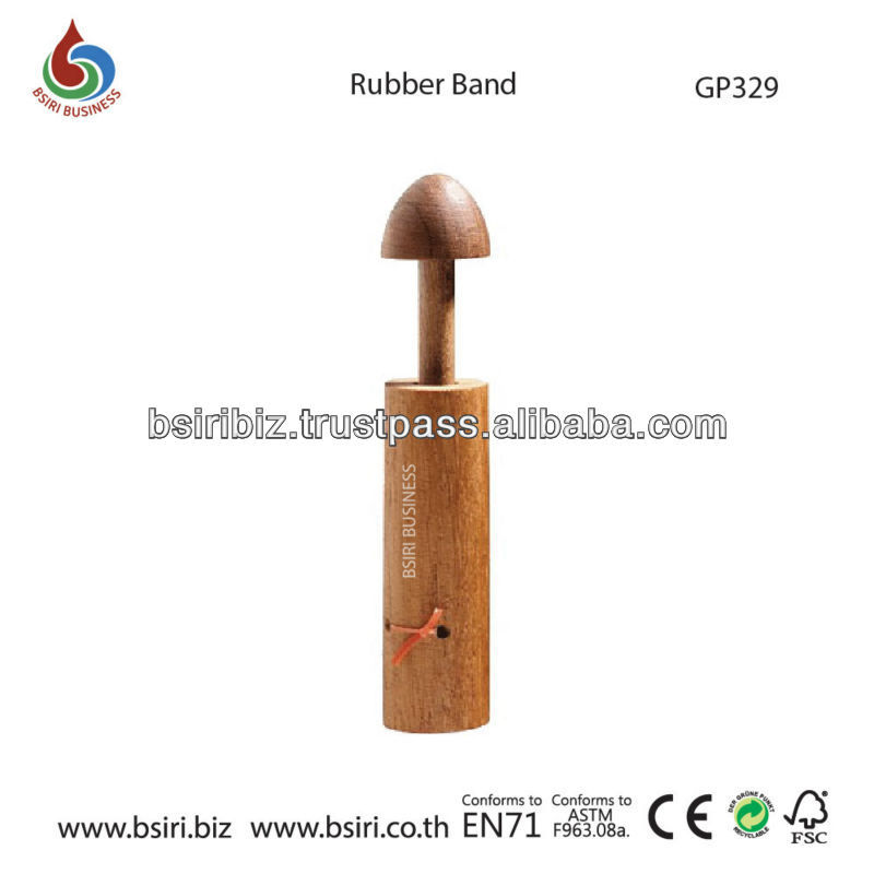 Wooden Puzzle Rubber Band Photo, Detailed about Wooden Puzzle ...