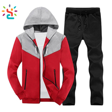 Men's jogging suits custom Pure Color Hooded 2 Pieces <strong>Sport</strong> Sweat Suit for women Set custom sweatsuit tracksuit