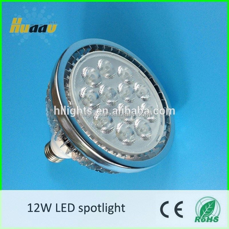 CE/RoHS 110V 2700K 12W PAR38 led spotlight housing