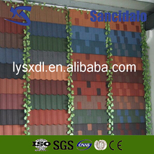 Factory supply colorful stone coated metal roofing tile / metal corrugated tile roofing/Stone Chip Coated Metal Roof Tile sheet