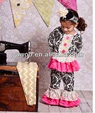 2013 New Fashion Baby Boy and Girls Clothing Set Children Kids Costumes 2 Pieces Spring Autumn Cotton Outfits 2pcs