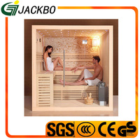 High quality 4-6 person outdoor sauna room / barrel sauna 03-S1