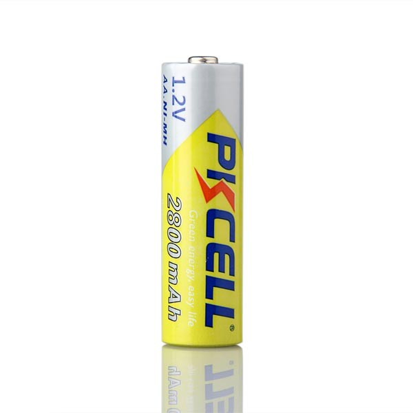 1.2V nimh AA size 2800mAh PKCELL rechargeable battery with CE ROHS