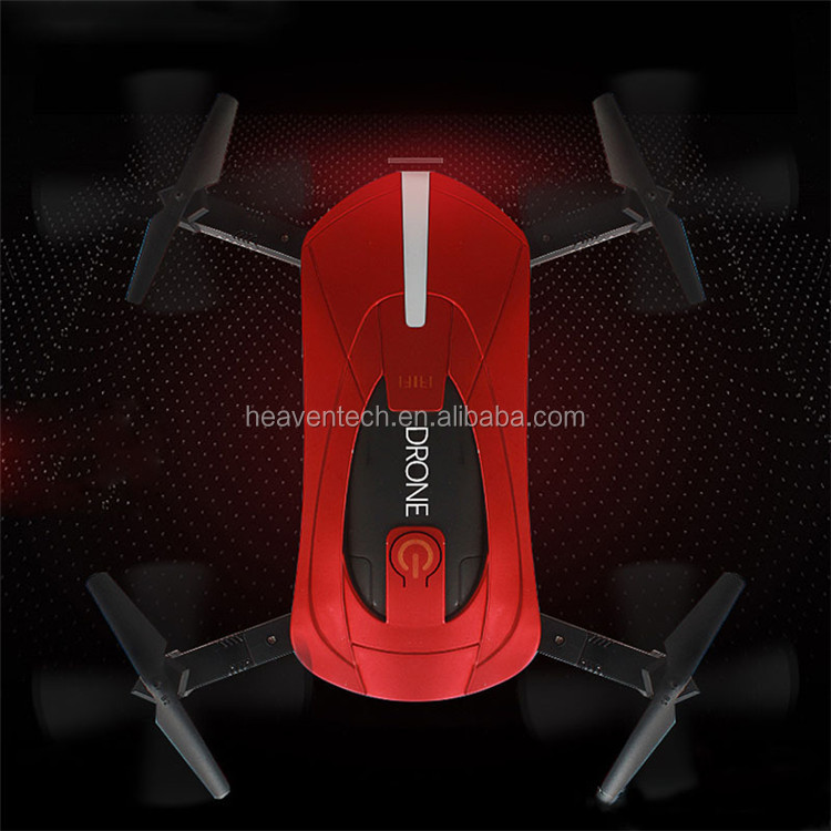 GY018 Elfiefolding Quadrocopter2.4G 6 Axis Flight Track Mode 0.3 Wifi Hd Fpv Camera Similar Looks Like JJRC H37 Mini Selfie Dron