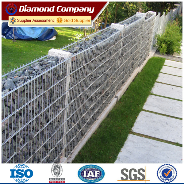 Factory rock welded gabion stone welded gabion retaining wall