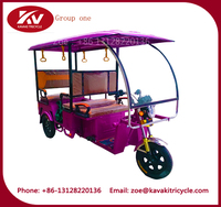 1000W 800W 60V five persons electric ester trike recumbent