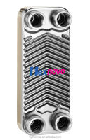 HC014 brazed stainless steel plate home heat exchanger