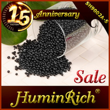 """HuminRich"" Leonardite Source Fulvic Acids Organic Fertilizer 70%HA Granular Humic Acid"