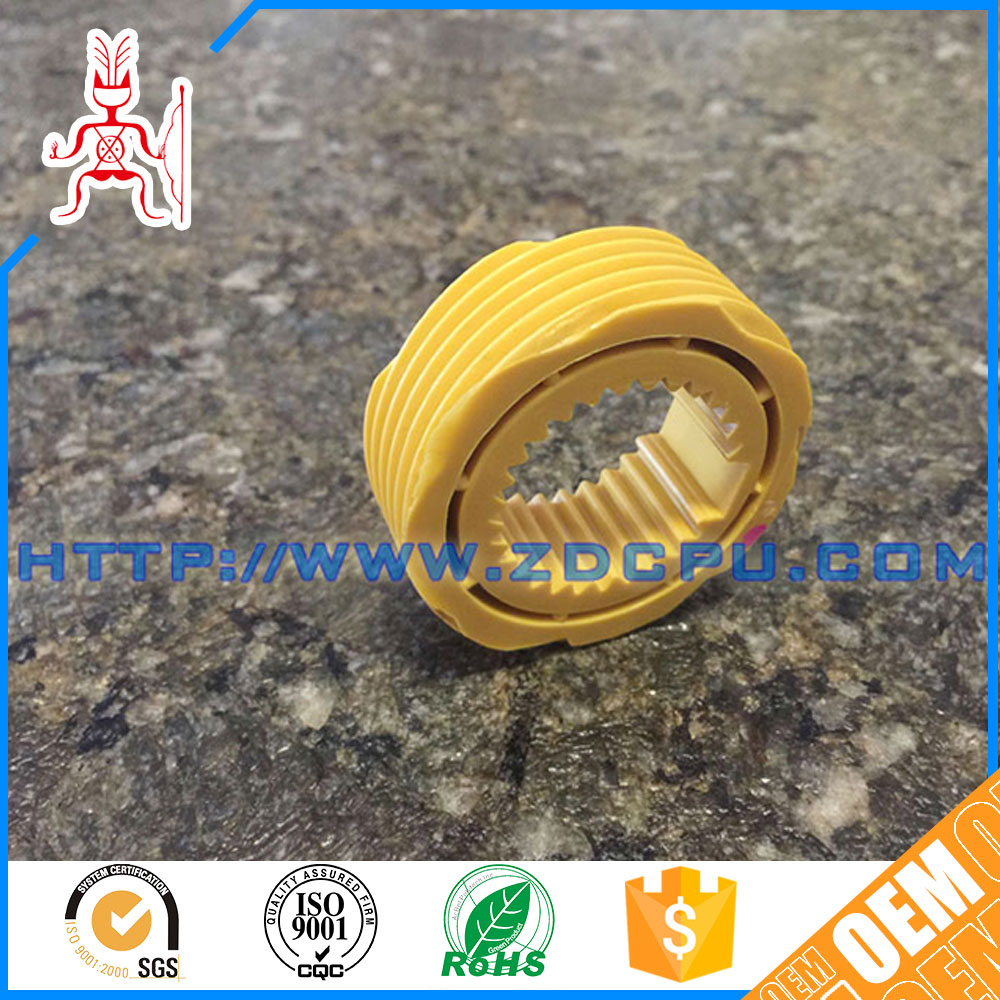 Anti-chemical industrial nylon worm wheel gear
