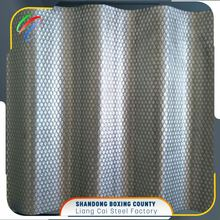 Low Foundation Cost Galvanized Corrugated Steel Sheet For Container