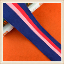 high quality wholesale elastic band tricolor rib for garment /Knitting Rib/ decoration /neckline/ dress hot sale