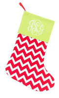Wholesale Chevron Family Stocking Matching Tree Skirts