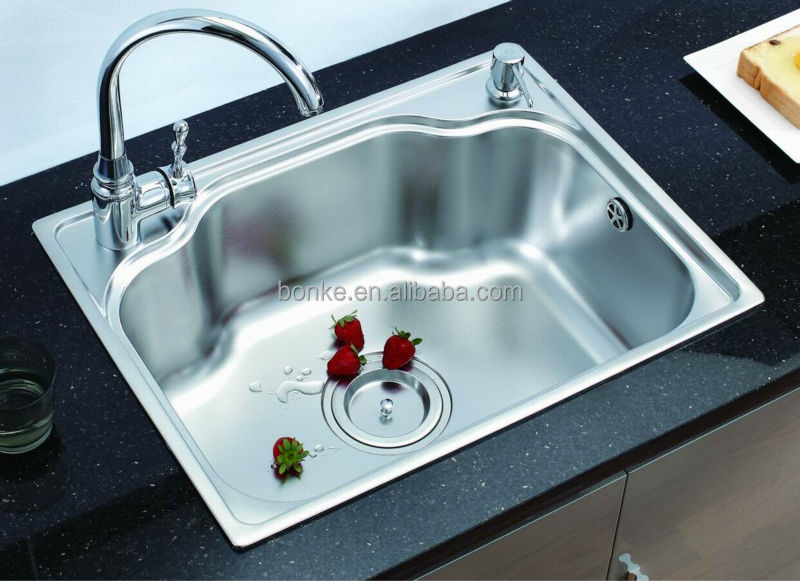 Above Counter Kitchen Sink(basin) Of Kl 610,Stainless Steel Kitchen Sink    Buy Kitchen Sink,Stainless Steel Sink,Topmount Sink Basin Product On  Alibaba.com