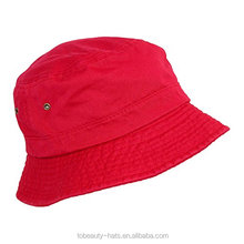 Top quality New fashion Promotional wholesale custom kids plain bucket hats