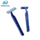D211L twin blade plastic disposable straight shaving razor blade shaver
