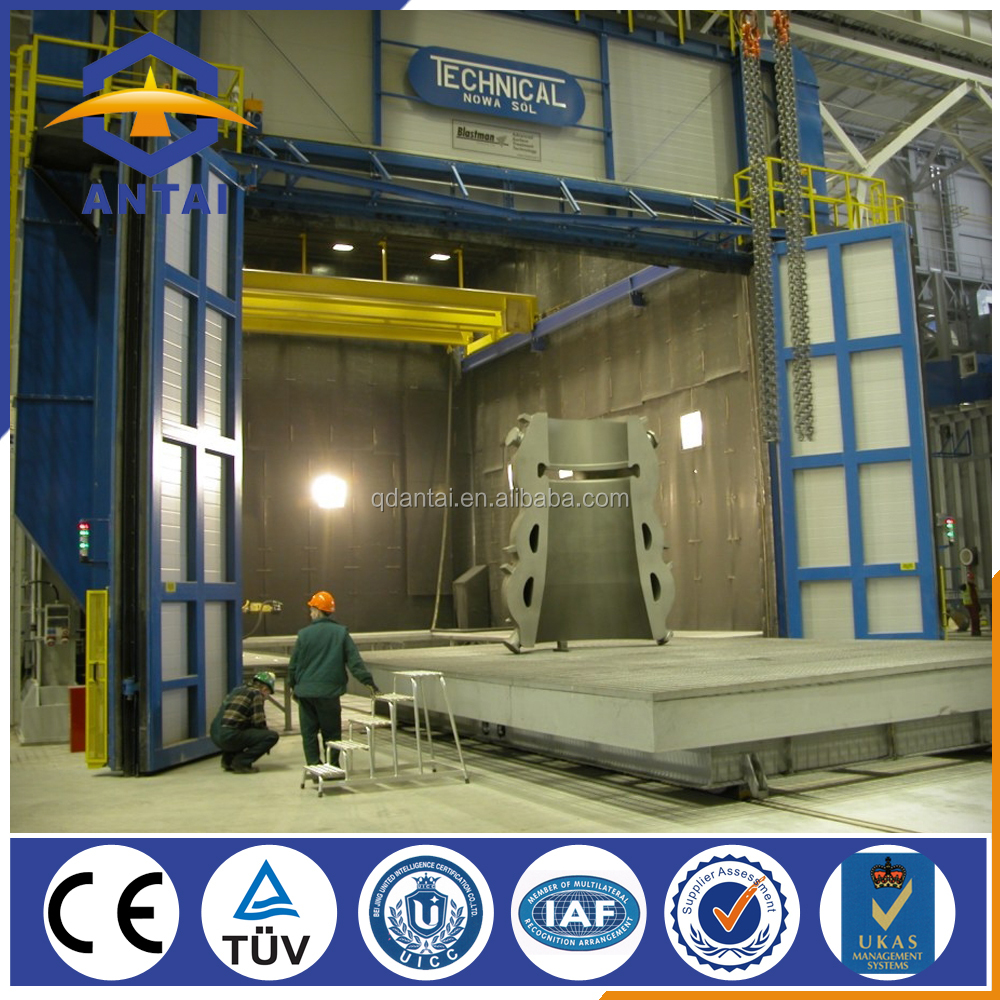 hot sale Q26 complete sand blasting booth room